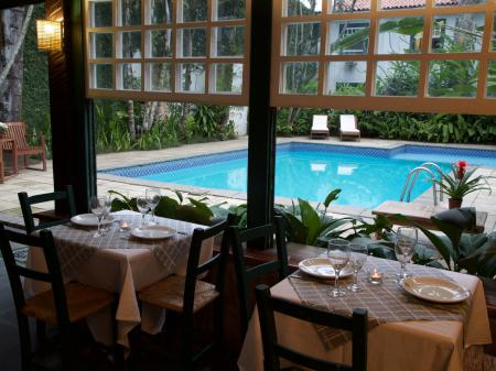Pousada do Principe Restaurant und Pool