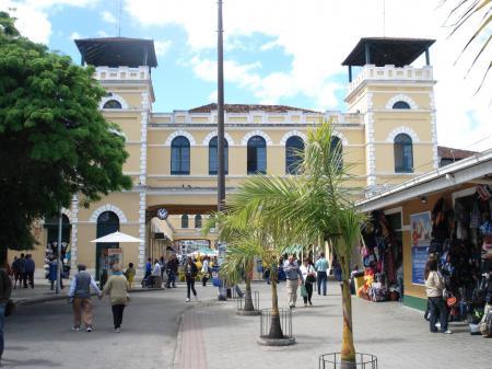 Das Zentrum von Florianopolis mit seiner Markthalle