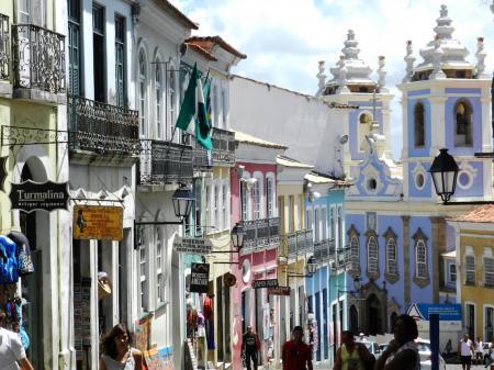 Historische Altstadt Pelourinho in Salvador