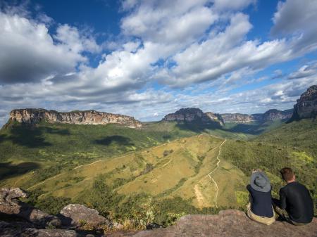 Panorama-Blick über die Chapada Diamantina