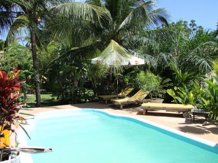 Pool der Pousada Canto de Imbassai