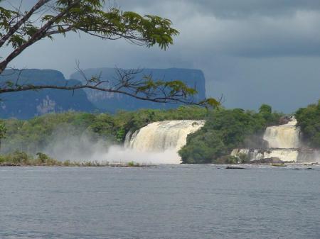 In der Gegend um Canaima in Venezuela gibt es wunderbare Wasserfälle zu entdecken