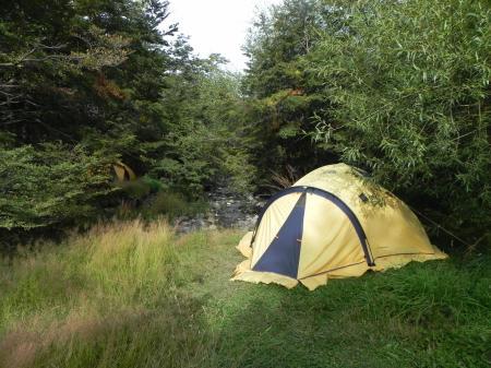 Auf der Trekkingtour schlafen Sie in Zelten und sind der Natur Patagoniens noch näher