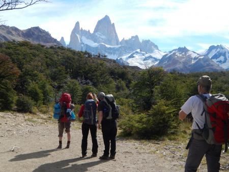 Wandern Sie entlang des Fitz Roy Trails und erkunden Sie die schöne Natur Patagoniens auf einer Reise in Argentinien
