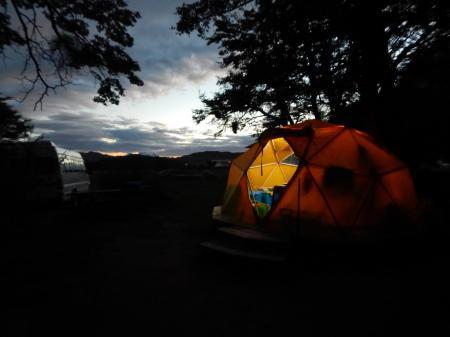 Auf dieser Trekkingreise werden Sie in Zelten übernachten und so die Natur hautnah erleben