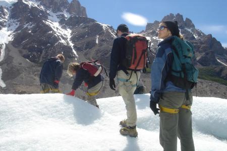 Unternehmen Sie eine unvergessliche Trekkingtour am Cerro Torre in Patagonien