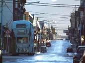 Straße in Ushuaia auf einer Argentinien Patagonien Rundreise