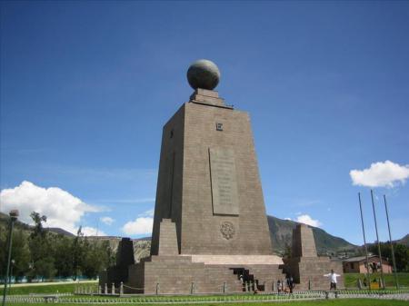 Ecuardor Rund Reise Quito Äquatormomument