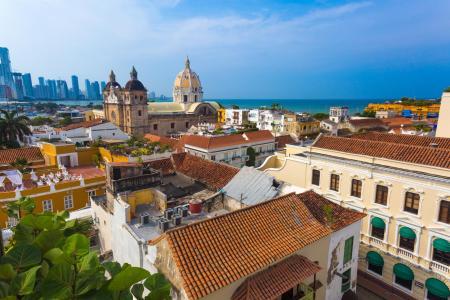Unternehmen Sie eine Stadtführung durch Cartagena in Kolumbien