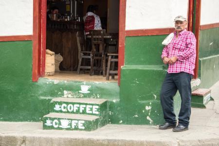 Die idyllischen Dörfer der Kaffeezone in Kolumbien erleben