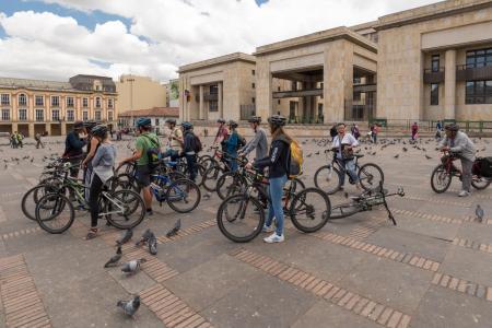 Die Hauptstadt Kolumbiens auf einer Mountain Bike Tour erkunden