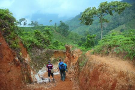 Begeben Sie sich auf eine Trekkingtour zur präkolumbianischen Ausgrabungsstätte Ciudad Perdida