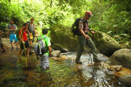 Begeben Sie sich auf eine aktive Wandertour zur präkolumbianischen Ausgrabungsstätte Ciudad Perdida