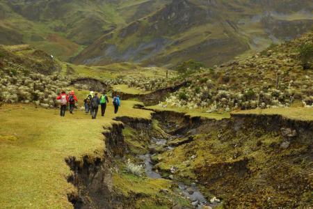 Begeben Sie sich auf eine Trekkingtour durch die Sierra Nevada bei Cocuy in Kolumbien