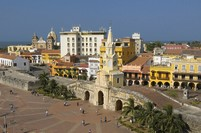 Kolumbien Rundreise Cartagena Altstadt