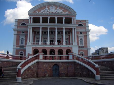 Das Teatro Amazonas in Manaus