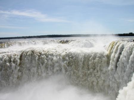 Teufelsschlund in Foz do Iguacu