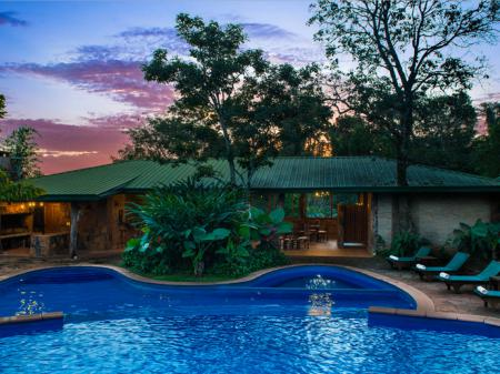 Hotel La Aldea de la Selva Pool