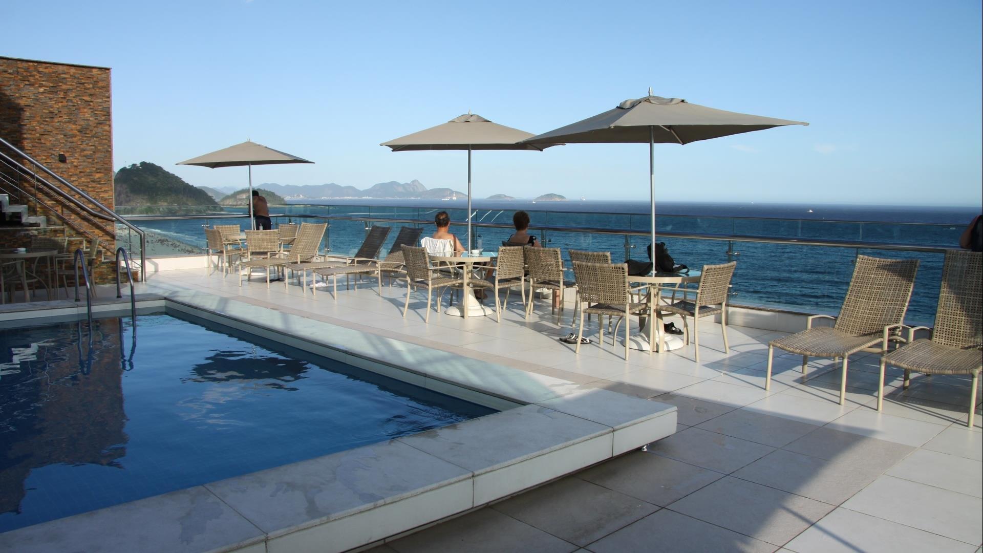 Brasilien Rio de Janeiro: Superior Hotel - Hotel Arena Copacabana