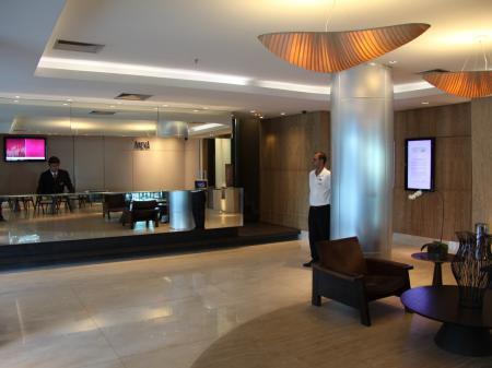 Hotel Arena Copacabana Rezeption