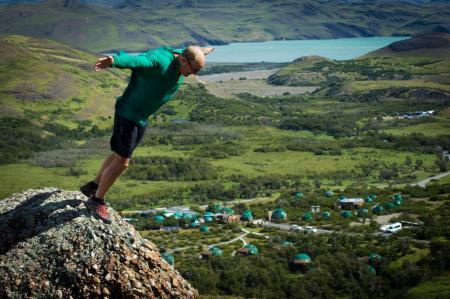 Entdecken Sie die Unterkunft EcoCamp Patagonia mitten in der Natur Patagoniens in Chile