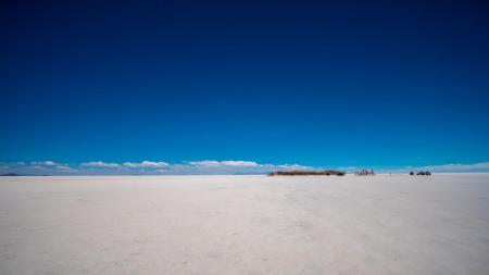 Bereisen Sie den berühmten Salar de Uyuni und entdecken Sie die große Salzwüste in Bolivien