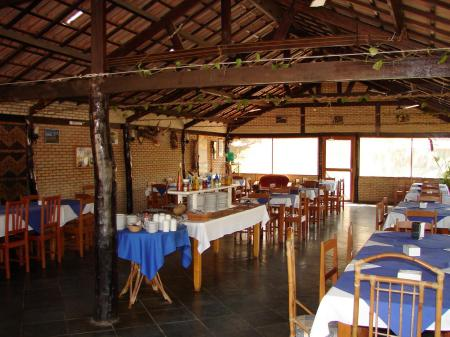 Landestypische Unterkunft Pousada Rio Claro Restaurant