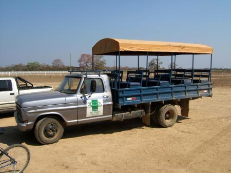 Landestypische Unterkunft Pousada Rio Claro Tourwagen