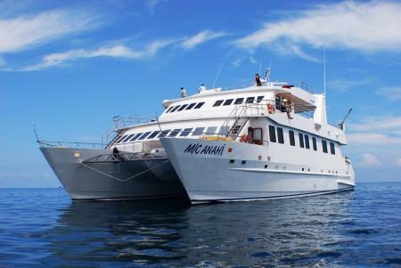 Reisen Sie nach Ecuador und unternehmen Sie eine Galapagos Kreuzfahrt auf der Anahi Yacht
