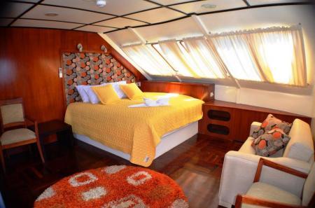 Erleben Sie einen tollen Aufenthalt auf dem Kreuzfahrtschiff Anahi in Ecuador