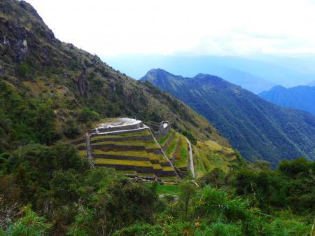 Entdecken Sie die Ruinen entlang des Inka Trails von Salkantay nach Machu Picchu