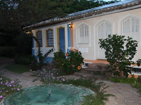 Pousada Vila Serrano Außenbereich