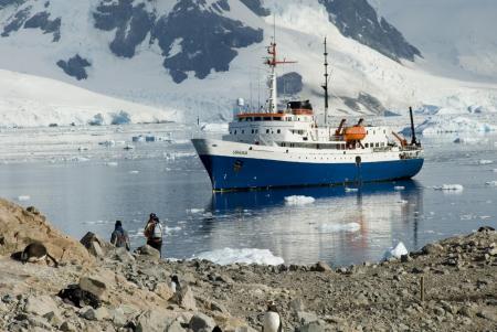 Auf dem Kreuzfahrtschiff Ushuaia fahren Sie von Argentinien bis in die Antarktis