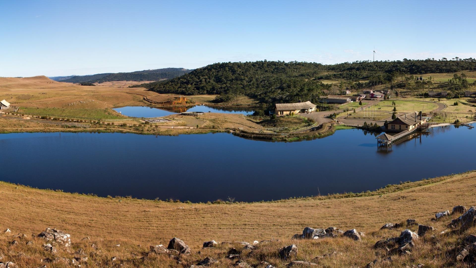 Brasilien Bom Jardim da Serra: Landestypische Unterkunft - Rio do Rastro Eco Resort