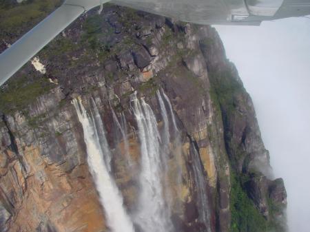 Erleben Sie auf Ihrer Venezuela Reise einen Rundflug über den Sapo Angel