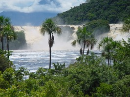 Canaima Nationalpark bei einer Reise durch Venezuela.