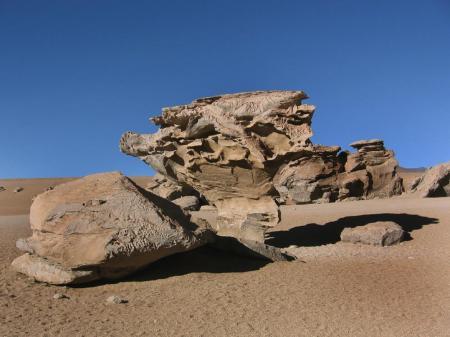 Besuchen Sie die bizarren Steinformationen in den Wüsten Boliviens auf einer Reise mit uns