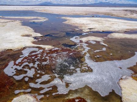 Entdecken Sie wunderschöne Lagunen in den Hochebenen Südamerikas