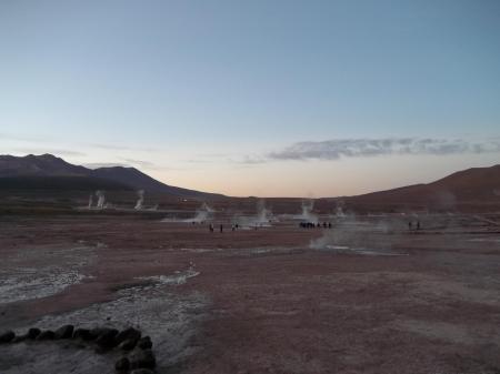 Besuchen Sie die Geysire der Atacama Wüste auf einer Reise nach Chile