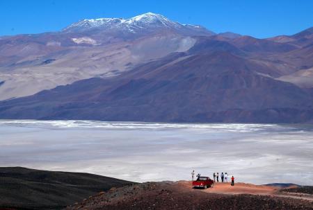Unternehmen Sie einen Ausflug zur Antofalla Oase auf dieser besonderen Reise in den Norden Argentiniens