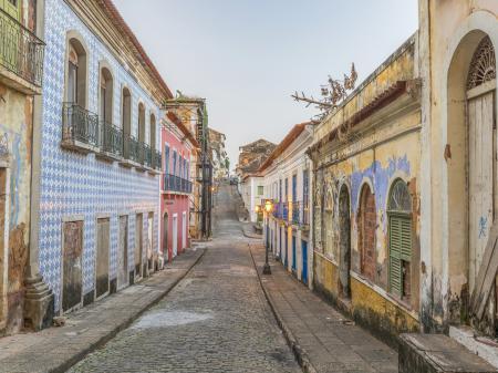 Bunte Altstadt von Sao Luis