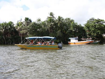 Per Boot über den Rio Preguicas nach Cabure