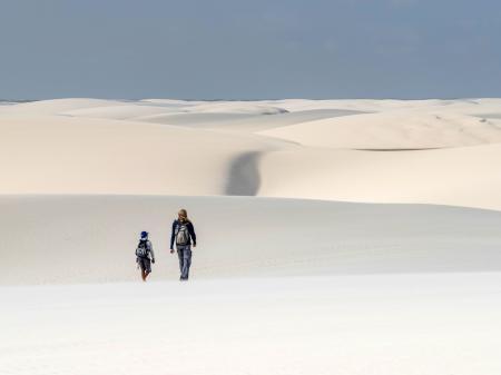 Unendliche Weite in den Dünen der Lencois Maranhenses