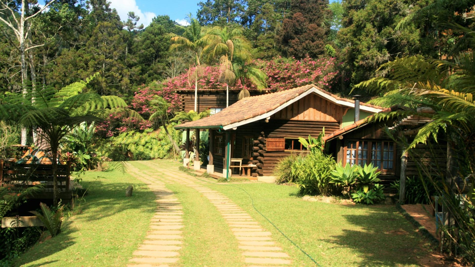 Brasilien Nova Friburgo: Landestypische Unterkunft - Eco Lodge Itororo