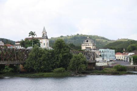 Salvador da Bahia Tagestour Cachoeira Brücke