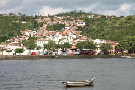 Salvador da Bahia Tagestour Cachoeira Blick vom Wasser