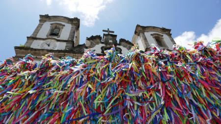 Tagestour Salvador da Bahia Kirche