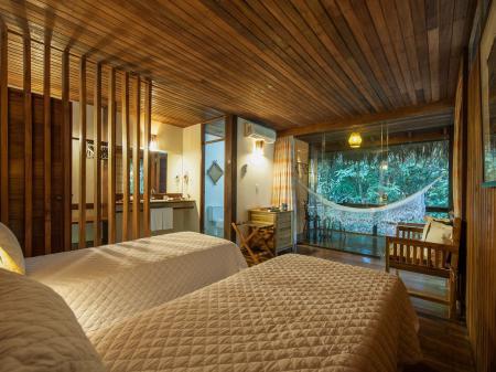 Komfort in der Anavilhanas Lodge mitten im Amazonas Regenwald