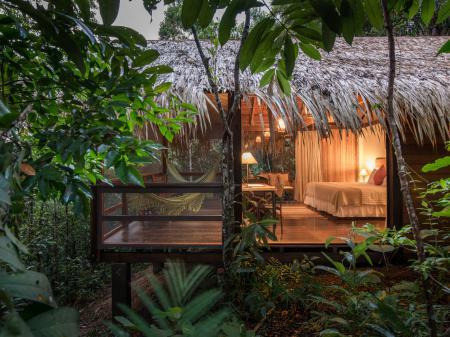 Komfort und Natur in der Anavilhanas Lodge