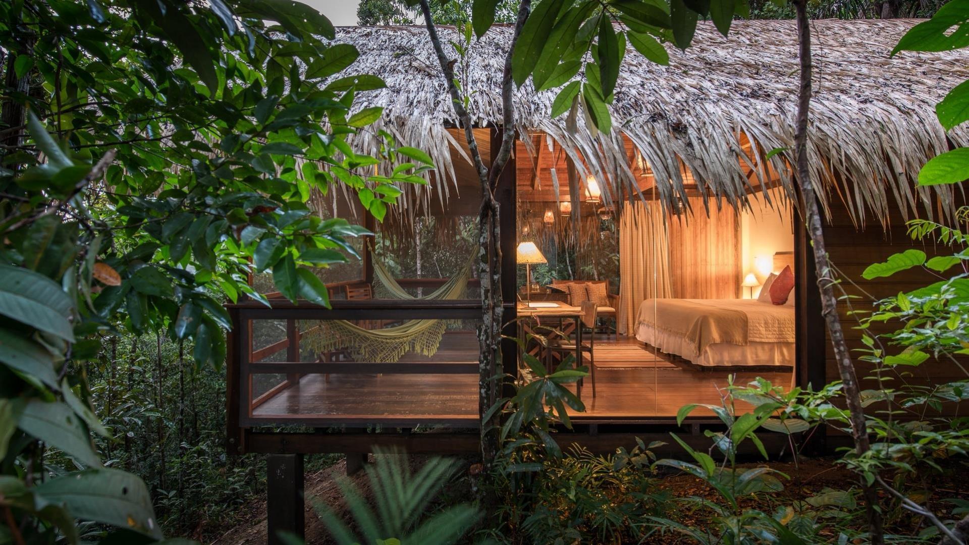 Brasilien Amazonas: 6 Tage Reisebaustein - Anavilhanas Jungle Lodge